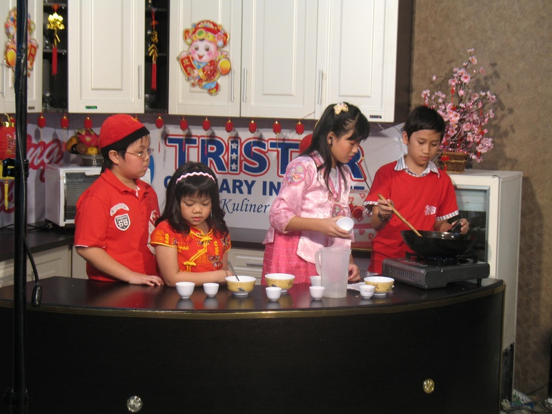 Kursus tristar royal kids cooking class for Resep canape sandwich
